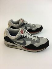 Mens Nike Air Max Mens US Size 13 - 511416 104 Gray Black Red Window Bottom bc7345dd0
