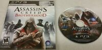 Assassin's Creed: Brotherhood (Sony PlayStation 3, 2010) Disc Case - No Book