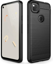Google Pixel 4A Case Shockproof Bumper Cover Protective Rugged Black Premium US