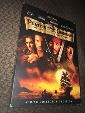Pirates Of The Caribbean The Curse Of The Black Pearl 2-disc DVD Disney Like New