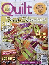 Quilt Magazine Aug/Sept 2011 - Stash Showase, Quilts for Scraps, Kids Quilts