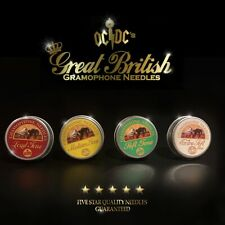 More details for brand new gramophone needles & tins  loud medium soft extra oc/dc great british