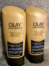 Olay Total Effects - 7 in 1 Advanced Anti Aging Body Lotion 8.4 fl.oz (Lot of 2)
