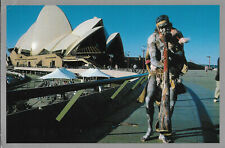 Australia  -  Sydney - The distinctive sound of the didgeridoo has been part