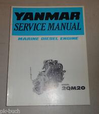 Pièces catalogue yanmar Boots moteur moteur Diesel 2qm20