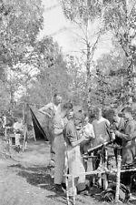 34.Infanteriedivision-Sanitäts Kompanie-Minsk-Smolensk-1941-MG reinigen-14