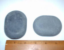 HOT STONE MASSAGE: Large Basalt Stone 7.5 x 5.5 x 2.75 cm (1 stone)