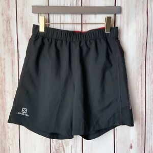 "Salomon Cairn 6"" Men's Black Swim Short Swimwear Size Small"