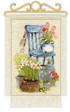 RIOLIS 1656  Cottage Garden  Printemps  Broderie  Point de croix compté