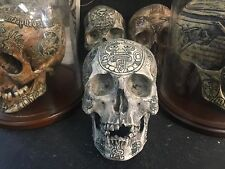Mayan Real Human Skull Replica Carved By Zane Wylie