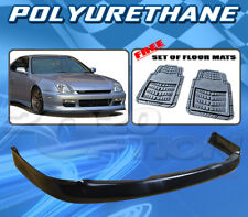 FOR HONDA PRELUDE 97-01 T-OE FRONT BUMPER LIP + DICKIES FLOOR MAT GREY