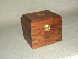 Hemingway Walnut Cartridge Box for Target Shooters - .30.06