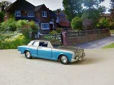 Corgi Toys 273 Rolls Royce Silver Shadow silver over blue with original box