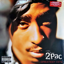 2pac GREATEST HITS Best Of 25 Essential Songs TUPAC SHAKUR New Sealed Vinyl 4 LP