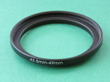 43.5mm-49mm Stepping Step Up Male-Female Lens Filter Ring Adapter 43.5mm-49mm