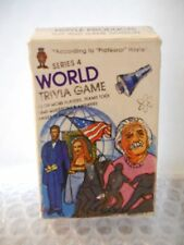 Vintage 1984 dated Hoyle Series 4 World Trivia Game Card Deck