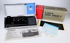 Rare Canon Data Back F New in the Box and in Mint Fully Working Condition  F/S