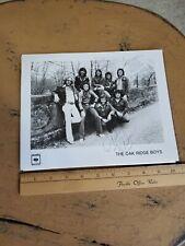 Vintage Autographed Country Artist Photo The Oak Ridge Boys