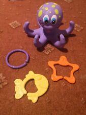 Nuby Octopus Baby Bath Floating Toy