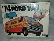 NEW MPC '74 FORD VAN #1-7431 1/20 SCALE MODEL KIT FACTORY SEALED