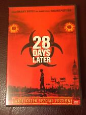 28 DAYS LATER DVD WIDESCREEN SPECIAL EDITION zombies danny boyle