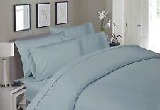 BLUESTAR 400tc 100% EGYPTIAN COTTON LIGHT BLUE King Bed Sheets Sheet Set