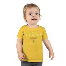 Yahuah-Name  Above All Names 02 Toddler T-shirt