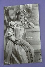 Phyllis Dare - Music Theatre Actress - Davidson Bros. Postcard, Posted 1908