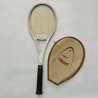 Vntg 70s AMF Head ARTHUR ASHE Competition 2 Boron Flex USA Tennis Racquet 5 1/4L