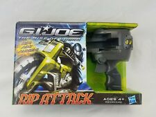 GI Joe Rise of Cobra Jet Storm Cycle Vehicle Rip Attack Toy With Snake Eyes