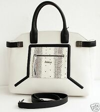 FURLA Tasche/Bag ALICE TOP HANDLE SATCHEL BAG Leather/Snakeskin  NEU!