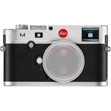 Leica M M 24,0 MP Digitalkamera - Silber (Nur Gehäuse)