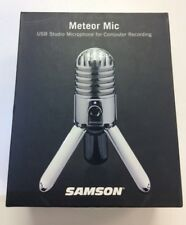 NEW Samson Meteor Mic USB Microphone for Computer Recording