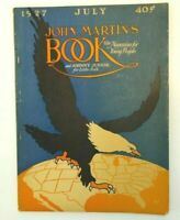 John Martin's Book The Child's Magazine July 1927 Vintage Very Good