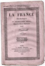 Pièce Théâtre. Vaudeville. Passé Minuit. 1842. Lockroy, Anicet-Bourgeois