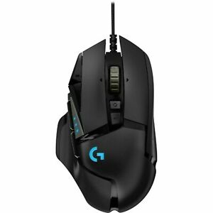 Logitech G502 HERO Gaming Mouse High Performance Wired Optical - Black