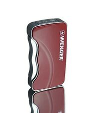 WENGER SWISS ASTERION JET FLAME GAS LIGHTER / RED / CAMPING SURVIVAL ** NEW **
