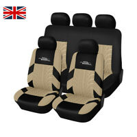 Auto Seat Cover Universal Fit Sport Truck Van - Full Set/ Front+Rear 5 Color