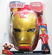 IRON MAN Costume Play Dress Up Mask & Top Outfit CIVIL WAR Size 4-6X NEW