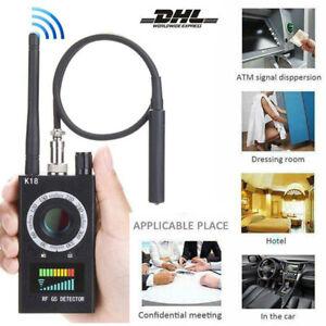 Wanzendetektor Signalfinder Bug RF Detektor GPS Spy Finder Versteckte Kamera K18