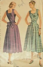 Simplicity 2477 Sewing Pattern Sun Dress Vintage 1948 Complete Size 16