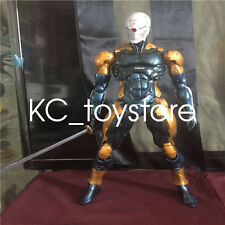 Play Arts Kai PA Metal Gear Solid Cyborg Ninja Gray Fox Action Figure Toy Doll