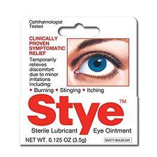 4 Pack Stye Sterile Lubricant Eye Ointment 0.125 Oz Each