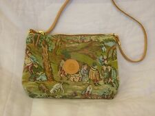 Gobelin Collection By B A Bag Purse Embroidered Tapestry Art Village Medieval