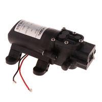 12V DC Diaphragm Water Pressure Pump for Sink,Tap, Shower, Model_D