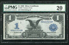 "FR. 228 1899 $1 ONE DOLLAR ""BLACK EAGLE"" SILVER CERTIFICATE PMG VERY FINE-20"