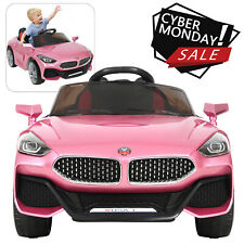 Crown Kids Child 12V Kids Ride On Car Remote Control LED Lights One Seat w/Music