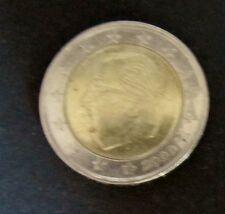 2 Euro-Münze Belgien Prägejahr 2000 aus Umlauf Sammlerstück
