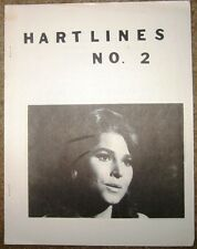 """Mariette Hartley Fanzine """"Hartlines 2, 4"""" Gen"""