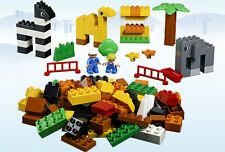 LEGO Duplo 5481 - Duplo: Basic Set: Zoo w/ Box & Rare Sticker Sheet